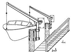 boat_on_piling_mounted_davit